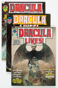 Magazines:Horror, Dracula Lives! Group of 18 (Marvel, 1973-75) Condition: Average VF.... (Total: 18 Comic Books)