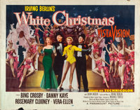 "White Christmas (Paramount, 1954). Half Sheet (22"" X 28""). Musical"