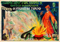 "Movie Posters:Miscellaneous, Chang and Fak Hong's A Night in Tokio (Hija de E. Marabet, Early1930s). Magic Poster (30"" X 43"").. ..."