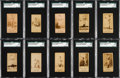 Baseball Cards:Lots, 1887-90 N172 Old Judge SGC Graded Collection (10). ...
