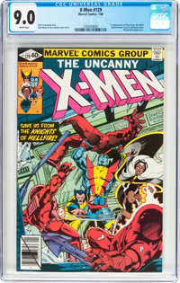 X-Men #129 (Marvel, 1980) CGC VF/NM 9.0 White pages