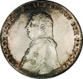 Austria: , Austria: Olmutz. Rudolph Johann 1/2 Taler 1820, KM196, toned AU,prooflike surfaces with some fine hairlines in the obverse fields.V...