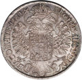 Austria: , Austria: Maria Theresa Taler 1751 Hall, KM743, Davenport 1120, toned XF-AU, a nice attractive example with the Empress in decorated g...