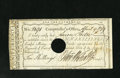 Colonial Notes:Connecticut, Hartford, CT- Comptroller's Office Ten Shillings April 9, 1789Extremely Fine, POC. A horizontal fold and vertical fold are ...