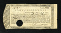 Colonial Notes:Connecticut, Connecticut June 1, 1782 £2 12s Very Fine, HOC. A couple of edgeand internal splits are noticed. The longest is approximat...