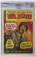 Golden Age (1938-1955):War, Bill Battle, The One Man Army #2 Crowley Copy pedigree (Fawcett,1952) CGC NM 9.4 Off-white to white pages....