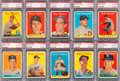 Baseball Cards:Lots, 1958 Topps Baseball PSA NM-MT 8 Graded Collection (10)....