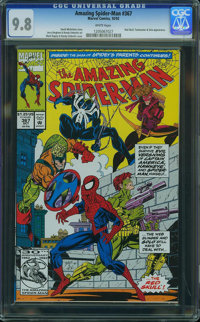 The Amazing Spider-Man #367 - WESTPORT COLLECTION VOL 2 (Marvel, 1992) CGC NM/MT 9.8 White pages