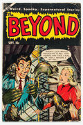 Golden Age (1938-1955):Horror, The Beyond #22 (Ace, 1953) Condition: VG+....