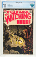 Silver Age (1956-1969):Horror, The Witching Hour #3 (DC, 1969) CBCS NM 9.4 Off-white to white pages....