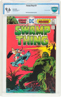 Bronze Age (1970-1979):Horror, Swamp Thing #21 (DC, 1976) CBCS NM+ 9.6 White pages....