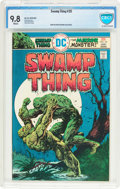 Bronze Age (1970-1979):Horror, Swamp Thing #20 (DC, 1976) CBCS NM/MT 9.8 White pages....