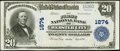 Webster City, IA - $20 1902 Plain Back Fr. 654 The First NB Ch. # 1874