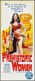 "Movie Posters:Adventure, Prehistoric Women (20th Century Fox, 1967). Australian Daybill (13""X 30""). Adventure.. ..."