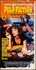 "Movie Posters:Crime, Pulp Fiction (Miramax, 1994). Australian Daybill (13.25"" X 25.5""). Crime.. ..."