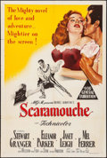 """Movie Posters:Swashbuckler, Scaramouche (MGM, 1952). Australian One Sheet (27"""" X 40""""). Swashbuckler.. ..."""