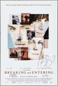 """Movie Posters:Drama, Breaking and Entering (Weinstein, 2006). Autographed One Sheet (27""""X 40"""") SS. Drama.. ..."""