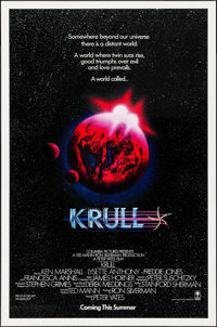 "Krull & Others Lot (Columbia, 1983). One Sheets (5) (27"" X 41"" & 27"" X 40) SS & D..."
