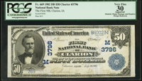 Clarion, IA - $50 1902 Date Back Fr. 669 The First NB Ch. # (M)3796