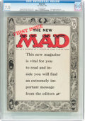Magazines:Mad, MAD #24 (EC, 1955) CGC FN/VF 7.0 Off-white pages....