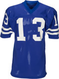 Football Collectibles:Uniforms, 1972 Lance Rentzel Game Worn Los Angeles Rams Jersey (One Year Style)....