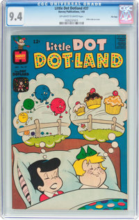 Little Dot Dotland #37 File Copy (Harvey, 1969) CGC NM 9.4 Off-white to white pages