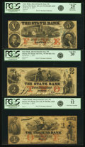 Obsoletes By State:Massachusetts, Boston, MA - Lot of 3 Altered Bills from the Waubeek Bank, De Soto, Nebraska.. ... (Total: 3 notes)