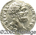 Ancients:Roman, Ancients: Clodius Albinus. A.D. 195-197. AR denarius (18 mm). Rome,as Caesar, A.D. 194. Bare head right / Roma seated left onshield,...