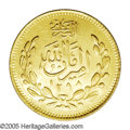 Afghanistan: , Afghanistan: Amir Amanullah gold 2 Tillas SH1298 (1919), KM879,Friedberg 26 (priced at $800), choice UNC, extremely bold strikeand full...