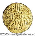 Algeria: , Algeria: Murad III gold Sultani 982AH (1575) Algiers Mint, NuriPere 264, choice XF-AU, extremely bold details and fully readabledat...