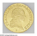 Austria: , Austria: Franz II gold Ducat 1792E, KM2166, choice lustrous AU-UNC,well-struck and no adjustment marks....