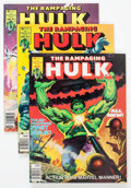 Magazines:Superhero, The Rampaging Hulk/The Hulk Group of 20 (Marvel, 1977-81) Condition: Average VF/NM.... (Total: 20 Comic Books)