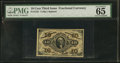 Fractional Currency:Third Issue, Fr. 1251 10¢ Third Issue PMG Gem Uncirculated 65.. ...