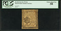 Colonial Notes:Pennsylvania, Pennsylvania October 25, 1775 3d PCGS Choice About New 58.. ...