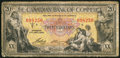 Canadian Currency: , Toronto, ON- Canadian Bank of Commerce $20 Jan. 2, 1935 Ch. #75-18-10.. ...