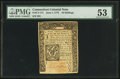 Colonial Notes:Connecticut, Connecticut June 1, 1773 10s PMG About Uncirculated 53.. ...