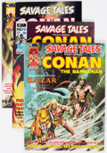 Magazines:Adventure, Savage Tales Group of 16 (Marvel, 1973-86) Condition: Average VF/NM.... (Total: 16 Comic Books)