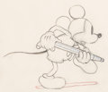 Animation Art:Production Drawing, Mickey's Garden Mickey Mouse Animation Drawing (Walt Disney,1935)....