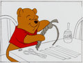 Animation Art:Production Cel, Winnie the Pooh Color Model Cel (Walt Disney, c. 1980)....