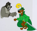 Animation Art:Production Cel, The 13 Ghosts of Scooby-Doo Production Cel Setup (Hanna-Barbera, 1986)....