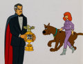 Animation Art:Production Cel, The 13 Ghosts of Scooby-Doo Production Cel Setup (Hanna-Barbera, 1985)....