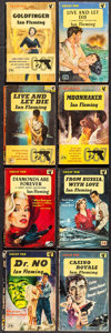 "Movie Posters:James Bond, Dr. No by Ian Fleming & Others Lot (Pan Books, 1960). PaperbackBooks (8) (Multiple Pages, 4.5"" X 7""). James Bond.. ... (Total: 8Items)"