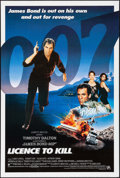 "Movie Posters:James Bond, Licence to Kill (United Artists, 1989). International One Sheet(26.75"" X 40""). James Bond.. ..."
