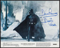 "Movie Posters:Science Fiction, The Empire Strikes Back (20th Century Fox, 1980). Autographed MiniLobby Card Set of 8 (8"" X 10""). Science Fiction.. ..."