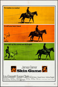 """Skin Game & Others Lot (Warner Brothers, 1971). One Sheets (4) (27"""" X 41""""). Western. ... (Total: 4 Ite..."""