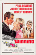 """Movie Posters:Sports, Winning (Universal, 1969/R-1973). One Sheet (27"""" X 41""""), Lobby Card Set of 8, Lobby Card (11"""" X 14""""), & Pressbook (24 Pages,... (Total: 11 Items)"""