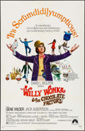 """Movie Posters:Fantasy, Willy Wonka & the Chocolate Factory (Paramount, 1971). OneSheet (27"""" X 41"""") & Photo (8"""" X 10""""). Fantasy.. ... (Total: 2Items)"""