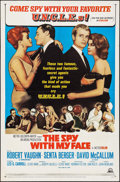 "Movie Posters:Action, The Spy with My Face & Other Lot (MGM, 1965). One Sheets (2)(27"" X 41""). Action.. ... (Total: 2 Items)"