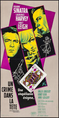 "Movie Posters:Thriller, The Manchurian Candidate (United Artists, 1962). French Petite (15.5"" X 30.75""). Thriller.. ..."
