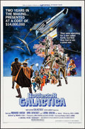 """Movie Posters:Science Fiction, Battlestar Galactica (Universal, 1978). One Sheet (27"""" X 41"""") StyleD. Science Fiction.. ..."""